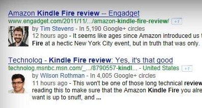 Google's In-depth Articles