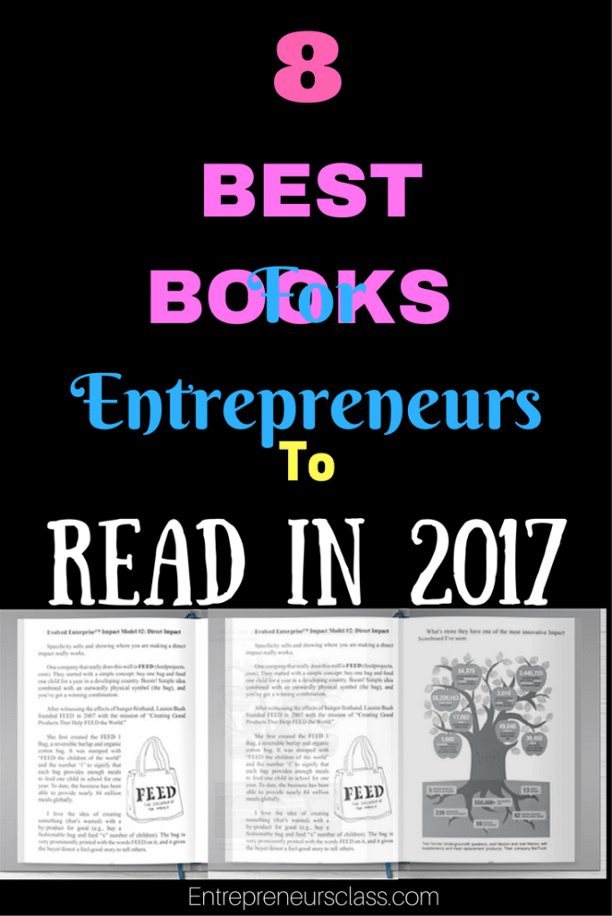8 best books for entrepreneurs must read books for 2017