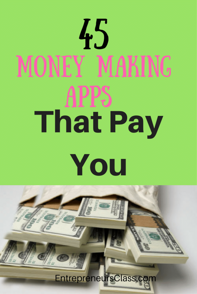money making Apps That Pay You