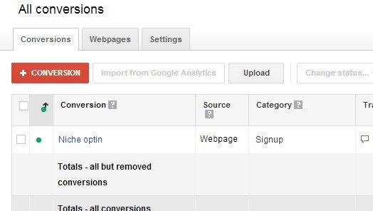google adwords conversion tracking code
