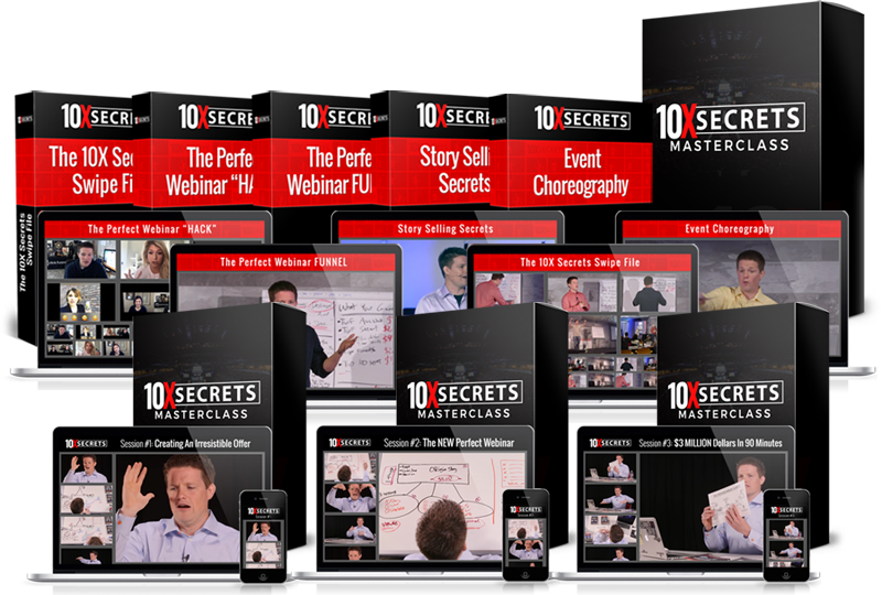 10x secrest review by Russell Brunson