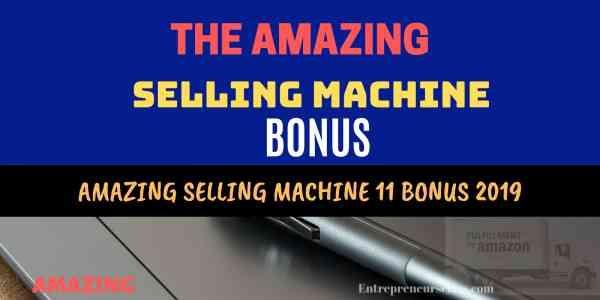 Amazing Selling Machine Bonus