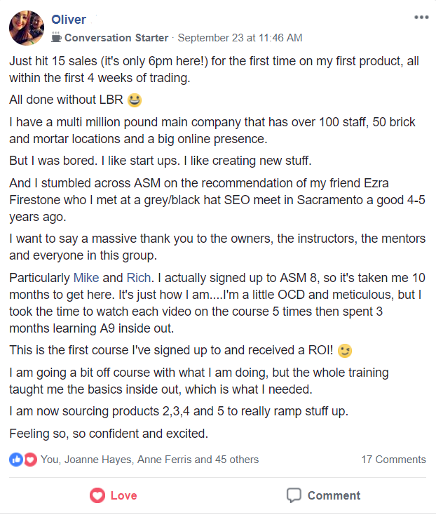 Amazing Selling Machine Success Stories