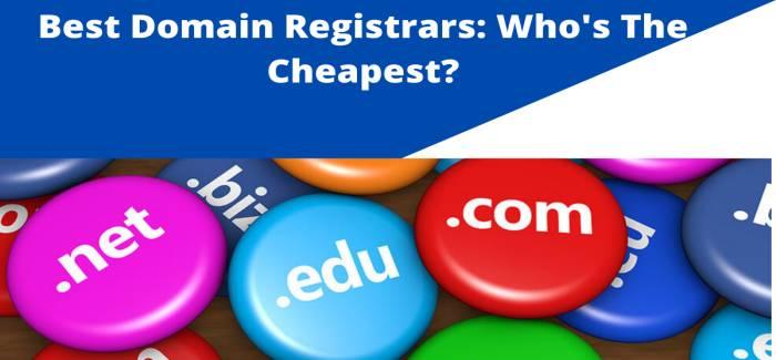 Best Domain Registrars 2021