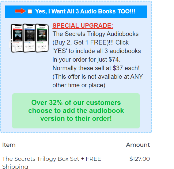 Secrets Trilogy BOX book Set