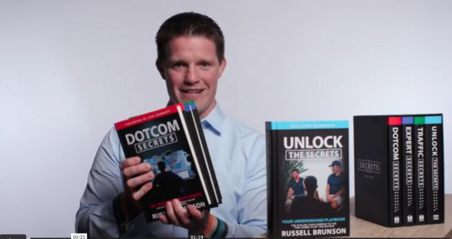 secrets trilogy Russell Brunson